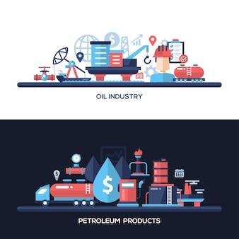 Olie- en gasindustrie website en bescherming header