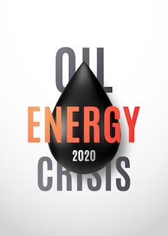 Olie-energiecrisis 2020.
