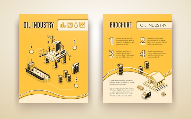 Olie-industrie, brochure aardolieproductie bedrijf, jaarverslag dekking