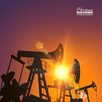 Oliepomp industriële machine