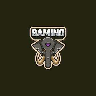 Olifant logo mascotte