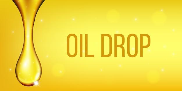 Olijfolievloeistof, oliedruppel, sprankelend collageen.