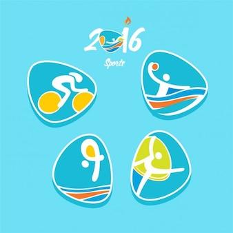Olympics rio icon
