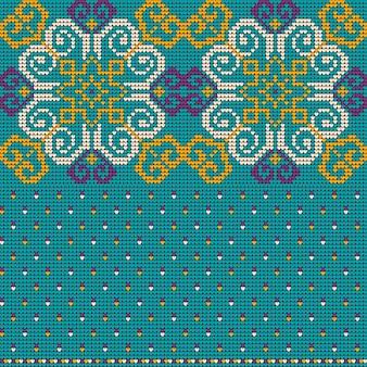 Omaans trui breipatroon