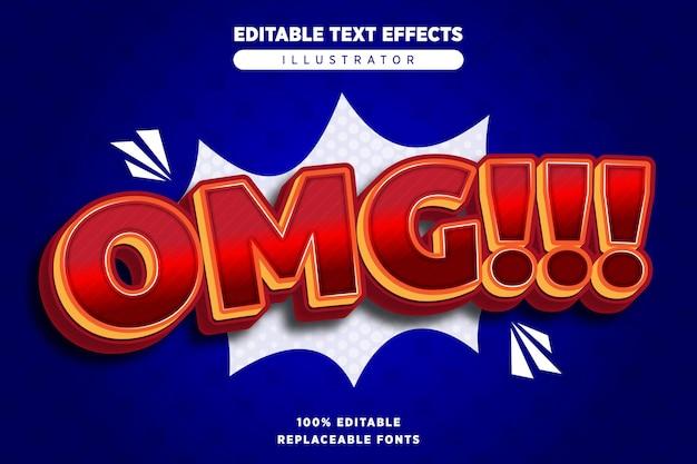 Omg teksteffect bewerkbaar