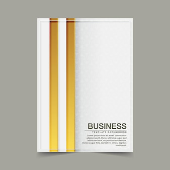 Omslag van minimalistisch modern abstract goud