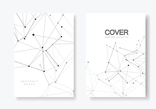 Omslagsjablonen voor brochure in a4-formaat
