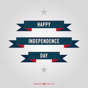 Onafhankelijkheid dag gratis banners