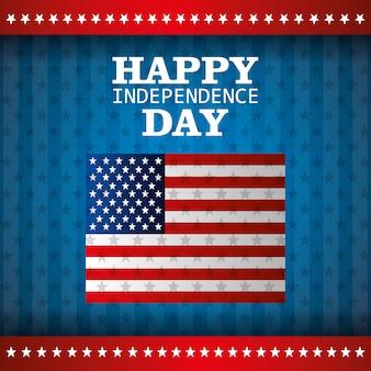 Onafhankelijkheidsdag 4 juli viering in de verenigde staten van amerika