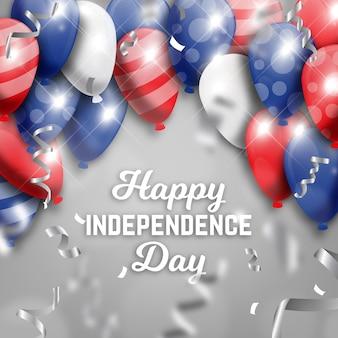 Onafhankelijkheidsdag achtergrondthema