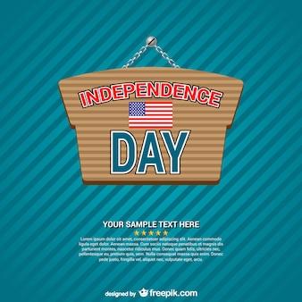 Onafhankelijkheidsdag teken vector