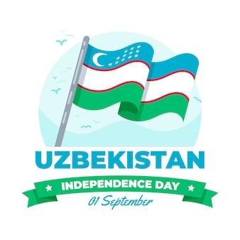 Onafhankelijkheidsdag van het evenement in oezbekistan