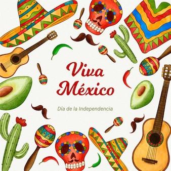 Onafhankelijkheidsdag van mexico-evenement