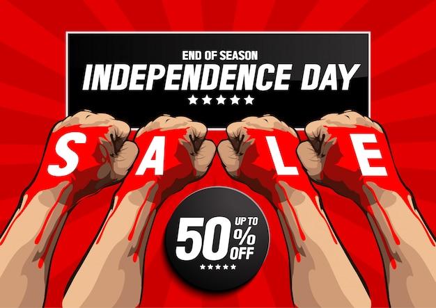 Onafhankelijkheidsdag verkoop