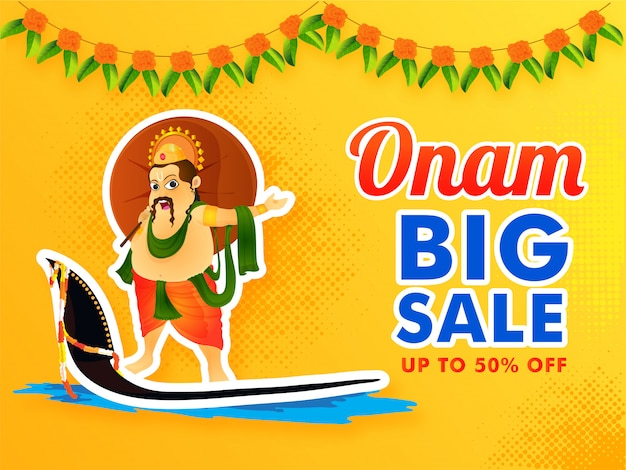 Onam festival grote verkoop.
