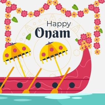 Onam-illustratie