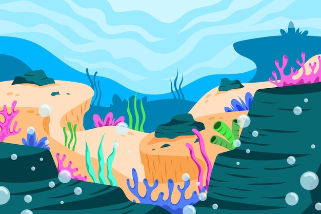 Onder de zee wallpaper voor video-oproep