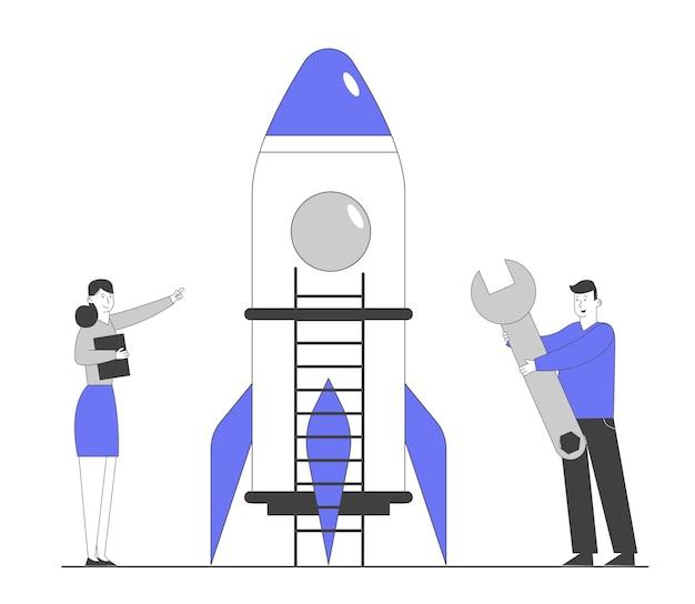 Ondernemers lanceren bedrijfsproject opstarten
