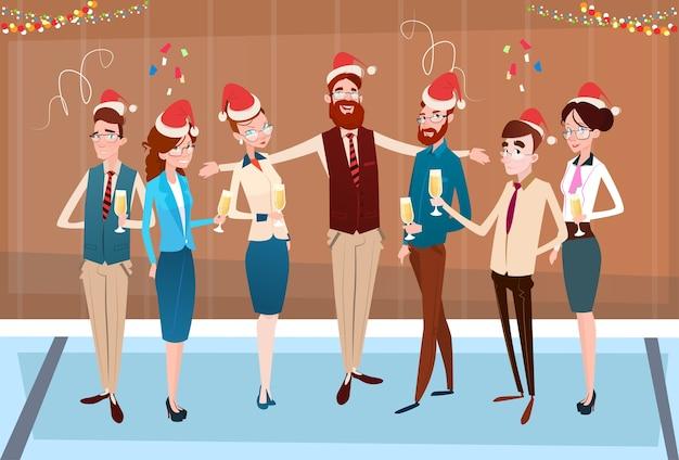 Ondernemers vieren merry christmas