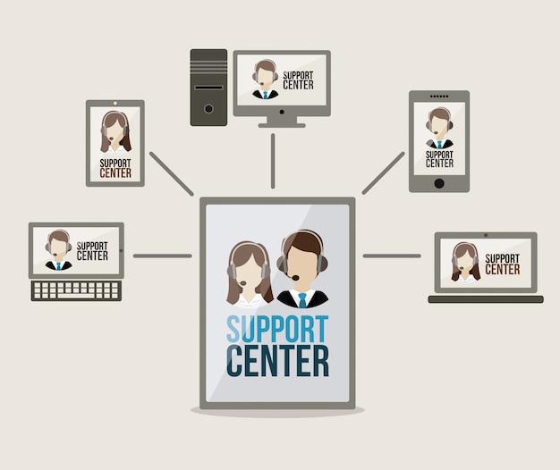 Ondersteuning centrumontwerp