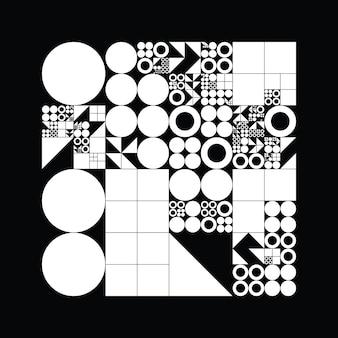 Onderverdeeld rastersysteem met symbolen
