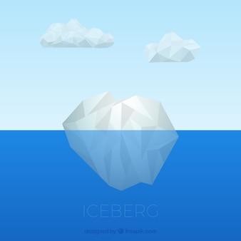 Onderwater ijsberg