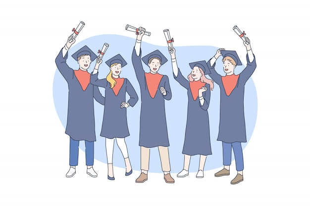 Onderwijs, afstuderen, toekennen