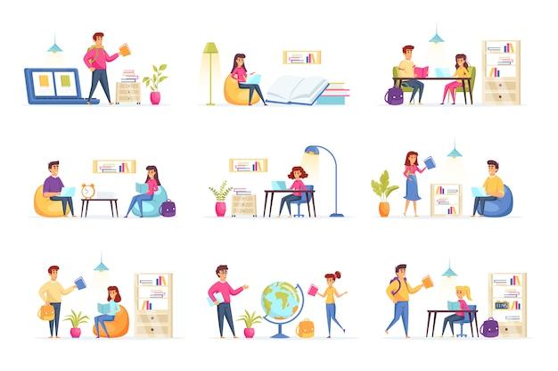 Onderwijs collectie personen personages