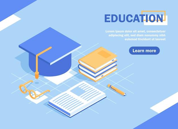 Onderwijs en leren banner