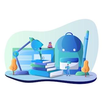 Onderwijs illustratie
