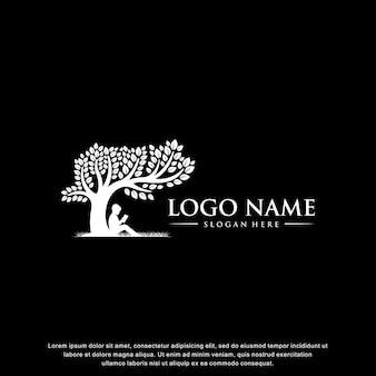 Onderwijs logo inspiratie plat ontwerp