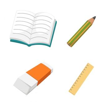 Onderwijs set vector