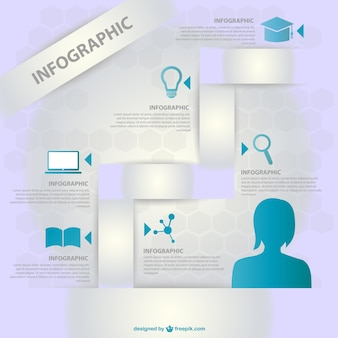 Onderwijs vector infographic