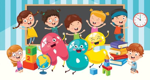Onderwijs voor kleine studenten