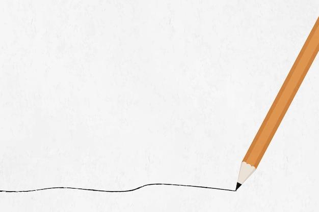 Onderwijsachtergrond met potlood