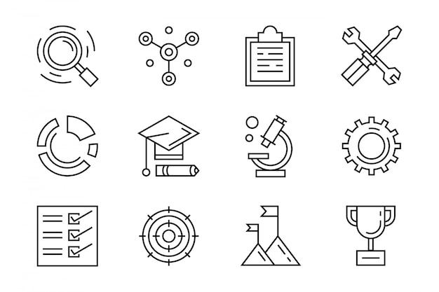 Onderzoek iconen