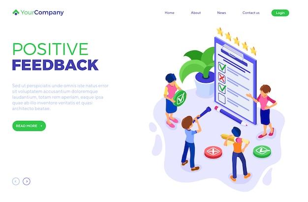 Onderzoek positieve feedback of test banner