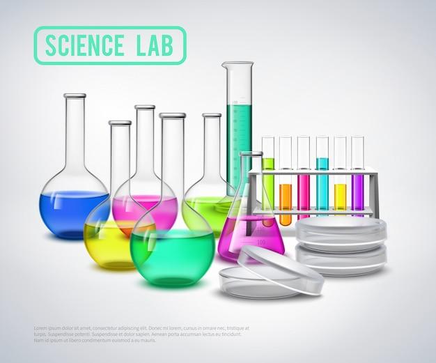 Onderzoeksmateriaal vloeistoffen samenstelling