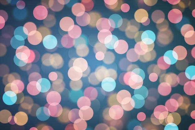 Ongericht abstract glitter bokeh achtergrond