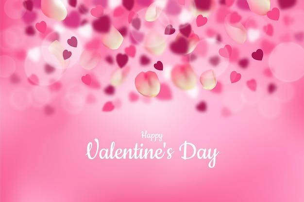 Ongericht valentijnsdag achtergrond