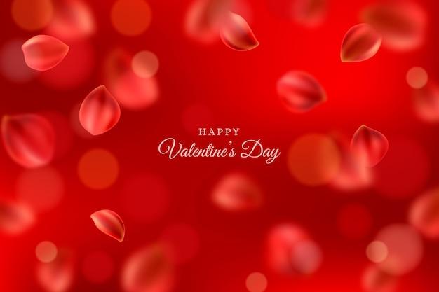 Ongericht valentijnsdag behang
