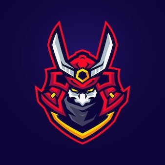 Oni samurai-logo