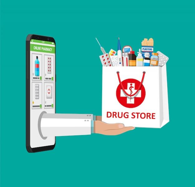 Online apotheek of drogisterij