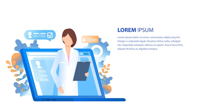 Online arts medisch consult en ondersteuning