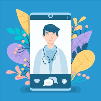 Online arts op smartphone