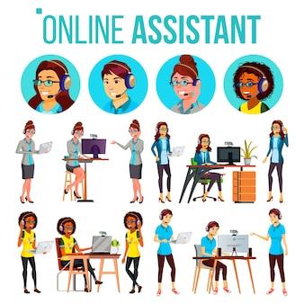 Online assistent