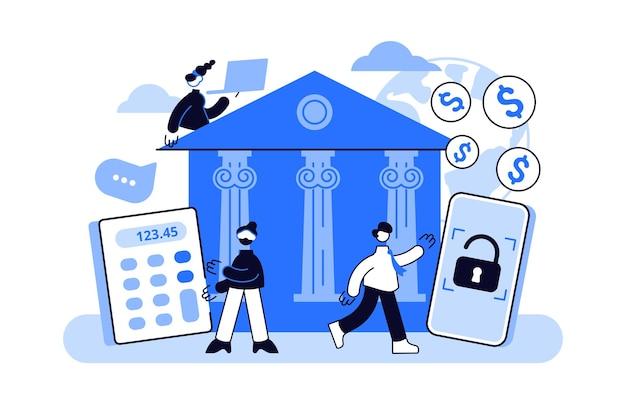 Online bankieren.