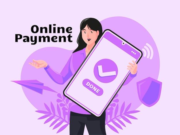 Online betaling internetbetalingen overboeking