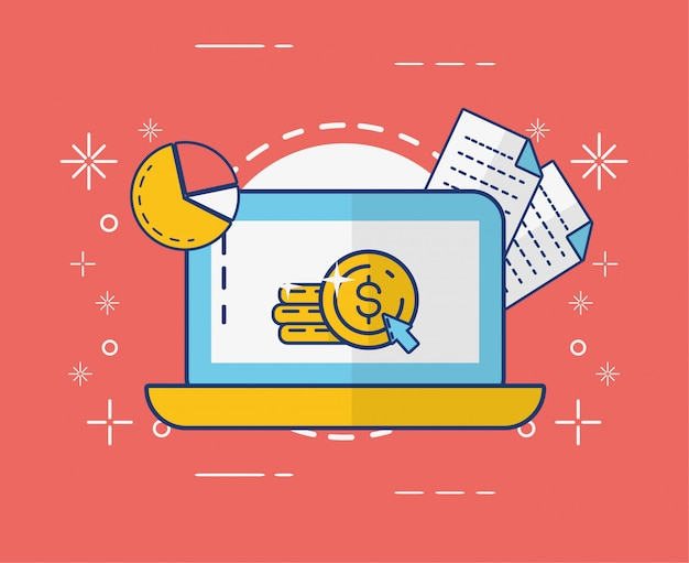 Online betalingsconcept