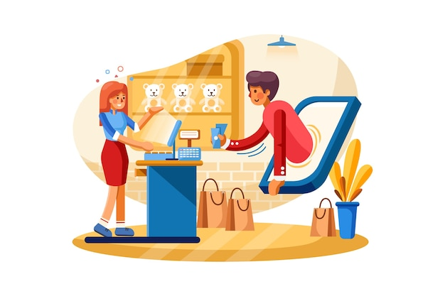 Online betalingssysteem